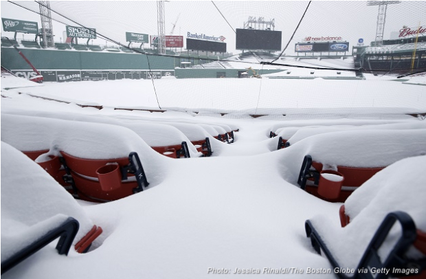 Fenway-In-Snow