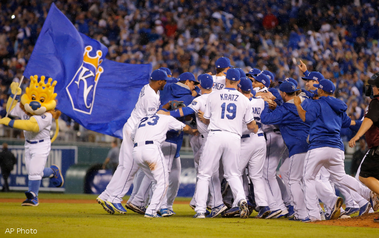 Defending Selig Royals Celebrate